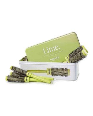 Pack 5 Cepillos Termix C·Ramic Lime