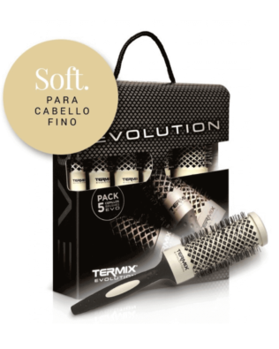 Pack 5 Cepillos Termix Evolution Soft