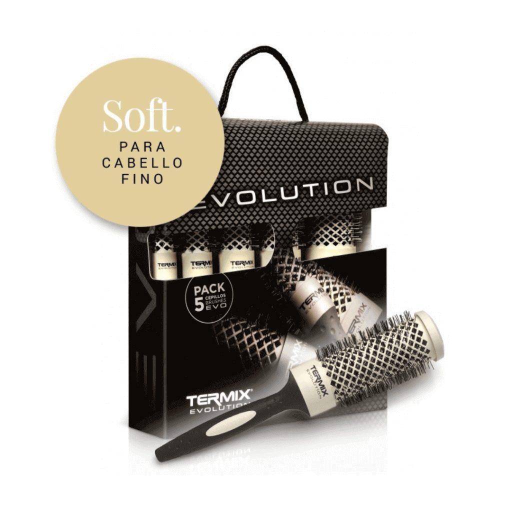 Pack 5 Cepillos Termix Evolution Soft