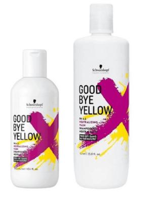 Champú Schwarzkopf Good Bye Yellow