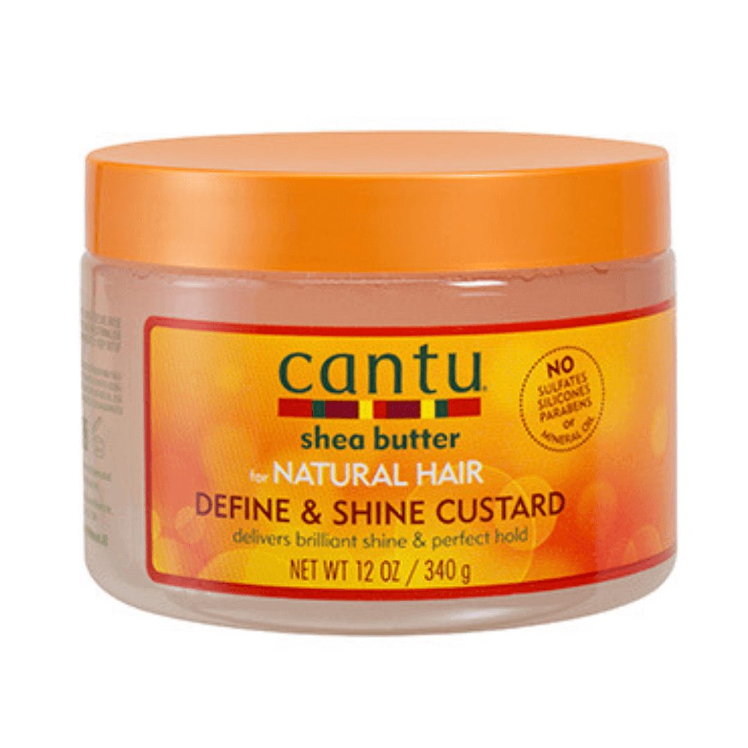 Cantu Manteca de Karité Define & Shine Custard