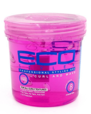 ECO STYLER STYLING GEL CURL & WAVE PINK