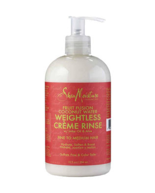 Acondicionador Shea Moisture Fruit Fusion Coconut Water Weightless Créme Rinse