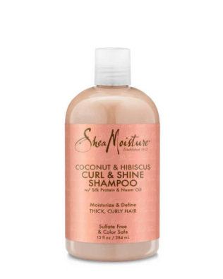 Champú Shea Moisture Coconut & Hibiscus Curl & Shine