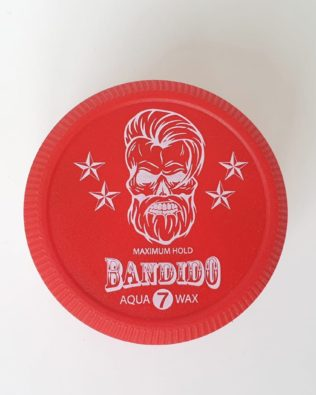 Bandido Maximum Hold Aqua Wax Red 7 150Ml