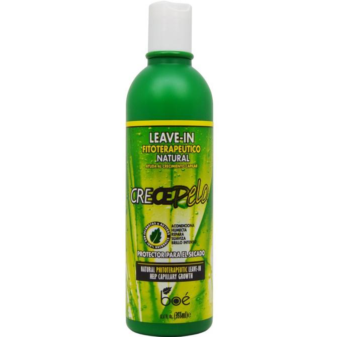 Crece Pelo Natural Boe Phitoterapeutic Leave-In 12Oz