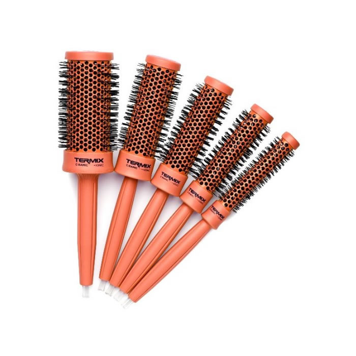 Cepillos Termix C-Ramic Colors Brush Coral Set 5 Piezas