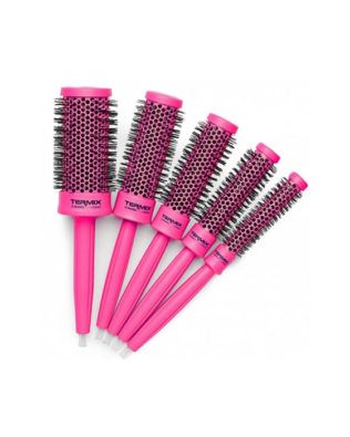 Cepillos Termix C-Ramic Colors Brush Pink Set 5 Piezas