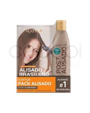 Kativa Alisado Brasileño + Champu Post