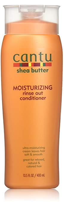 Cantu Shea Butter Moisturizing Rinse Out Conditioner 13.5 fl oz