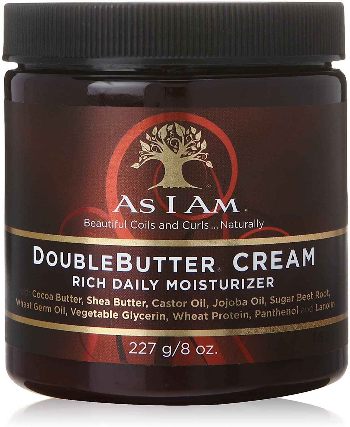 AS I AM DOUBLE BUTTER CREAM 227gr.