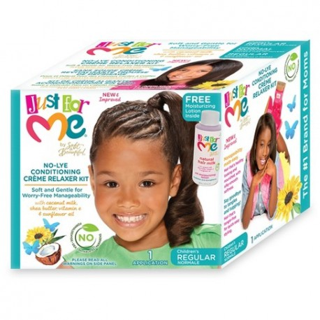 No-Lye Conditioning Crème Relaxer Kit Children's REGULAR Just For Me