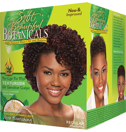 Soft & Beautifull Botanicals Regular Scalp Texturizer