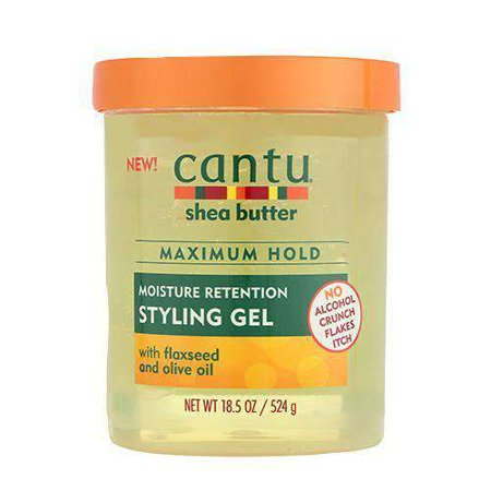CANTU MOISTURE RETENTION STYLIING GEL WITH FLAXSEED AND OLIVE OIL