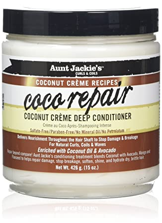 Aunt Jackie's Coconut Creme Recipes Coco Repair Deep Conditioner 426 g.