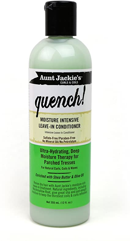 Aunt Jackies Quench Moisture Intensive Leave-In Conditioner  355 ml
