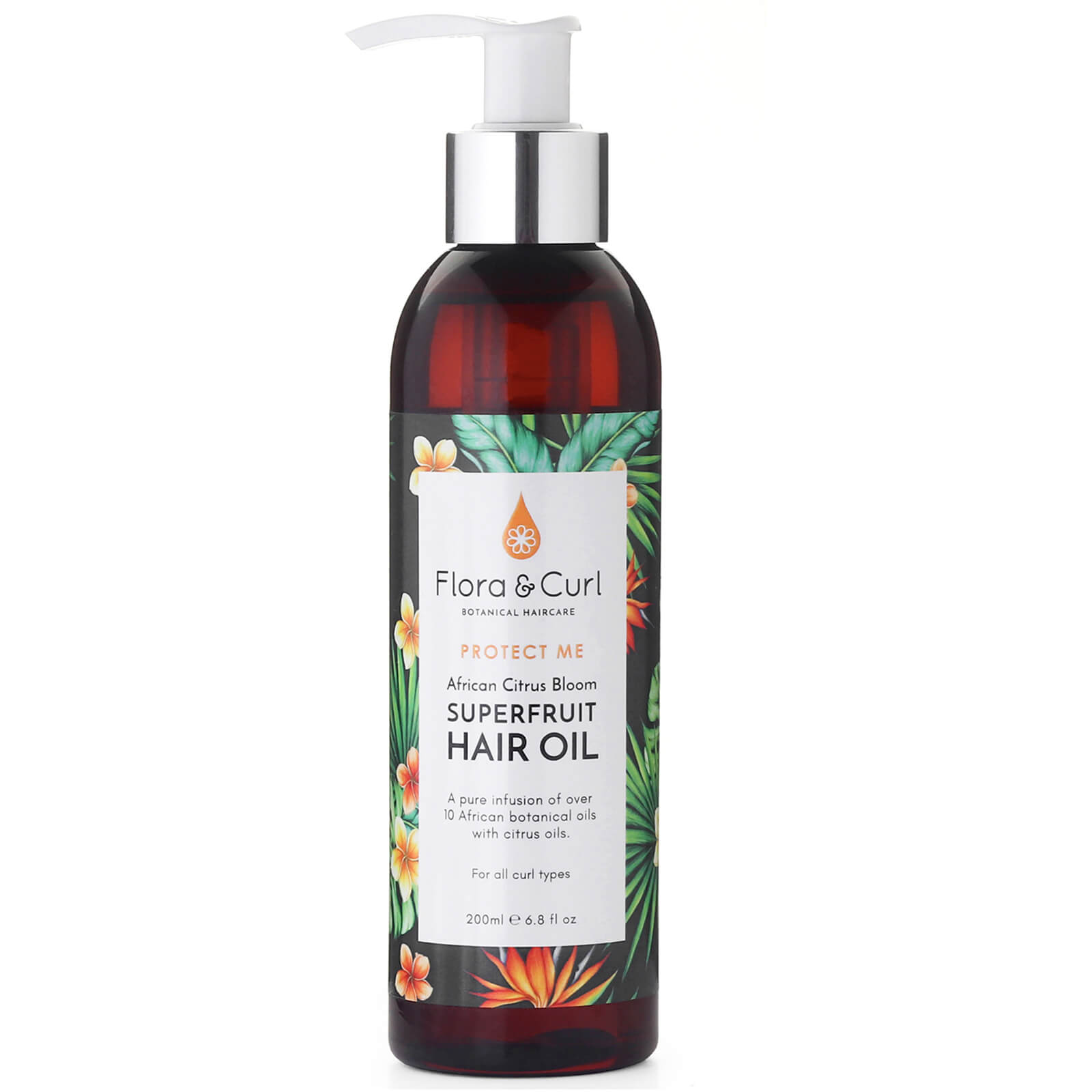 Flora & Curl Flora & Curl, African Citrus Superfruit Hair Oil 200ml